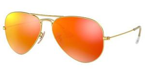 Ray-Ban RB3025 112/69 crystal brown mirror orangegold