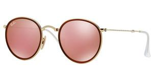 Ray-Ban RB3517 001/Z2 BROWN MIRROR PINKGOLD