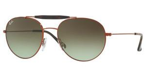 Ray-Ban RB3540 9002A6 GREEN GRADIENT BROWNMEDIUM BRONZE
