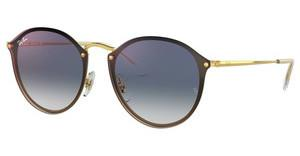 Ray-Ban RB3574N 001/X0 CLEAR GRADIENT BLUE MIRROR REDGOLD