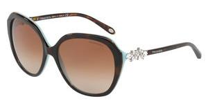 Tiffany TF4132HB 81343B BROWN GRADIENTHAVANA/BLUE