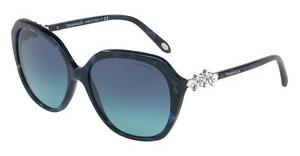 Tiffany TF4132HB 82009S AZURE GRADIENT BLUESHELL BLUE