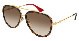 Gucci GG0062S 012 BROWNGOLD