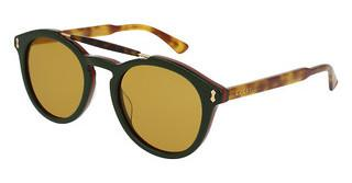 Gucci GG0124S 005 BROWNGREEN