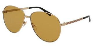 Gucci GG0138S 002 BROWNGOLD