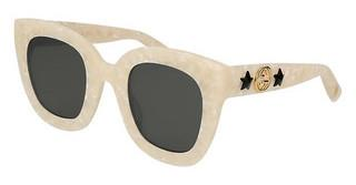 Gucci GG0208S 005 GREYIVORY