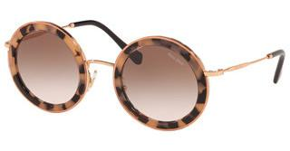 Miu Miu MU 59US 07D0A6 BROWN GRADIENTPINK HAVANA