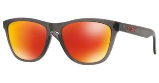 Oakley OO9013 9013F8 PRIZM RUBY POLARIZEDMATTE GREY SMOKE