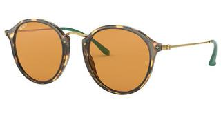 Ray-Ban RB2447 1244N9 YELLOW - POLARYELLOW HAVANA