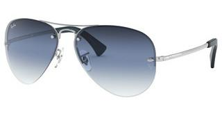 Ray-Ban RB3449 91290S CLEAR GRAD BLUESILVER