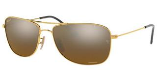 Ray-Ban RB3543 001/A3 BROWN MIRROR GOLD GRAD POLARGOLD