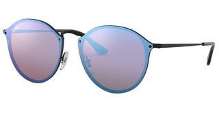 Ray-Ban RB3574N 153/7V DARK VIOLET MIRROR BLUEDEMIGLOS BLACK