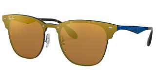 Ray-Ban RB3576N 90377J DARK ORANGE MIRROR GOLDBRUSCHED BLUE