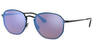 Ray-Ban RB3579N 153/7V DARK VIOLET MIRROR BLUEDEMIGLOS BLACK