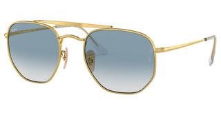 Ray-Ban RB3648 001/3F CLEAR GRADIENT BLUEGOLD