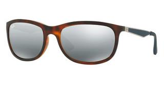 Ray-Ban RB4267 625788 MIRROR GRADIENT GREYSHINY RED HAVANA