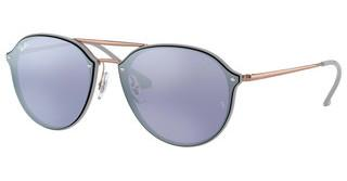 Ray-Ban RB4292N 63261U DARK VIOLET MIRROR SILVERLIGHT GREY