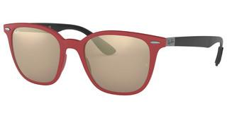 Ray-Ban RB4297 63455A LIGHT BROWN MIRROR GOLDRED SANDING