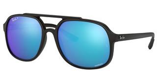 Ray-Ban RB4312CH 601SA1 GREEN MIR BLUE POLARMATTE BLACK