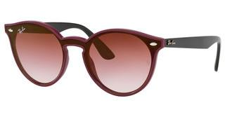 Ray-Ban RB4380N 64180T CLEAR GRAD BORDEAUX GRAD BROWNBORDEAUX DEMISHINY