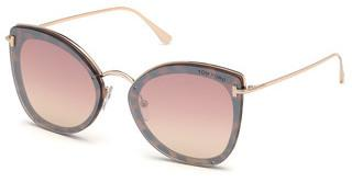 Tom Ford FT0657 55Z verspiegelthavanna bunt