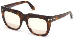 Tom Ford FT0687 53Z verspiegelthavanna blond