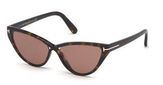 Tom Ford FT0740 52E braunhavanna dunkel