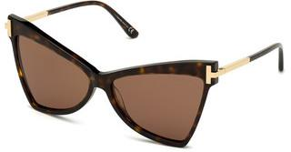 Tom Ford FT0767 52E braunhavanna dunkel