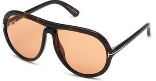 Tom Ford FT0768 52E braunhavanna dunkel