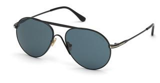 Tom Ford FT0773 01V blauschwarz glanz