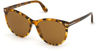 Tom Ford FT0787 55E braunhavanna bunt