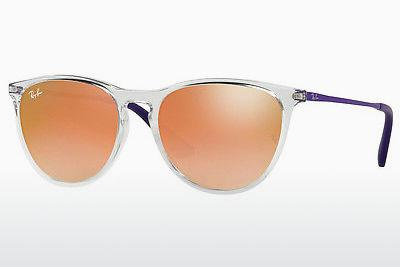 Zonnebril Ray-Ban Junior RJ9060S 7030B9 - Wit, Doorzichtig