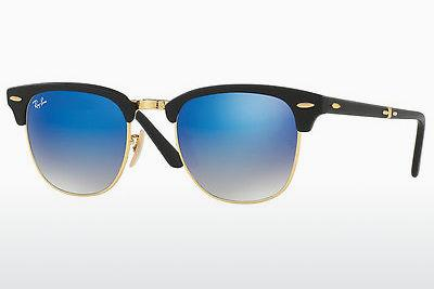 Zonnebril Ray-Ban CLUBMASTER FOLDING (RB2176 901S7Q) - Zwart