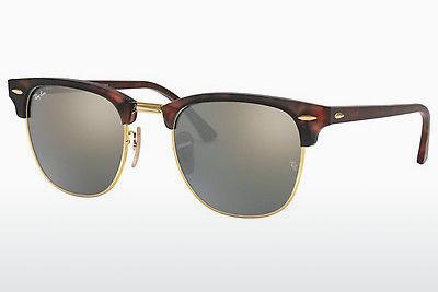 Zonnebril Ray-Ban CLUBMASTER (RB3016 114530) - Bruin, Havanna, Sand