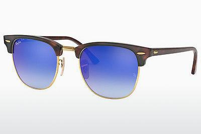 Zonnebril Ray-Ban CLUBMASTER (RB3016 990/7Q) - Bruin, Havanna