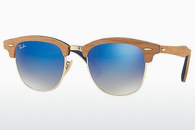 Zonnebril Ray-Ban CLUBMASTER (M) (RB3016M 11807Q) - Goud