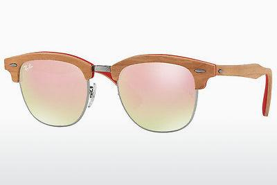 Zonnebril Ray-Ban CLUBMASTER (M) (RB3016M 12197O) - Grijs