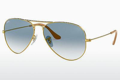 Zonnebril Ray-Ban AVIATOR LARGE METAL (RB3025 001/3F) - Goud