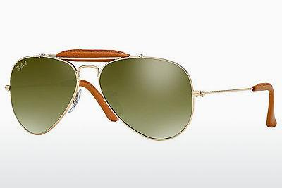 Zonnebril Ray-Ban AVIATOR CRAFT (RB3422Q 001/M9) - Goud, Bruin