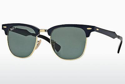 Zonnebril Ray-Ban CLUBMASTER ALUMINUM (RB3507 136/N5) - Zwart