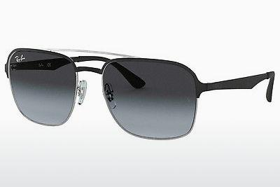 Zonnebril Ray-Ban RB3570 90048G - Zilver, Zwart