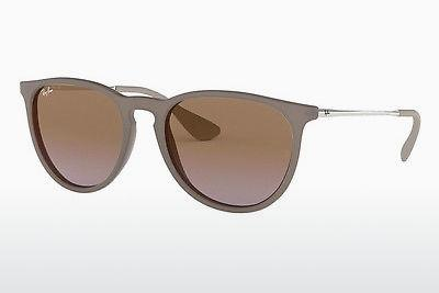 Zonnebril Ray-Ban ERIKA (RB4171 600068) - Roze, Sand