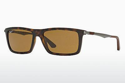 Zonnebril Ray-Ban RB4214 609283 - Bruin, Havanna