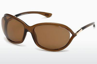 Zonnebril Tom Ford Jennifer (FT0008 48H) - Bruin