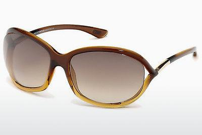 Zonnebril Tom Ford Jennifer (FT0008 50F) - Bruin, Dark