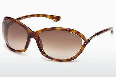 Zonnebril Tom Ford Jennifer (FT0008 52F) - Bruin, Dark, Havana