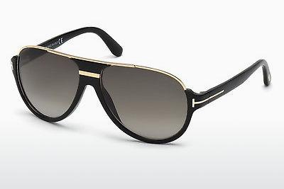 Zonnebril Tom Ford Dimitry (FT0334 01P) - Zwart, Shiny
