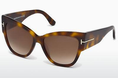 Zonnebril Tom Ford Anoushka (FT0371 53F) - Havanna, Yellow, Blond, Brown