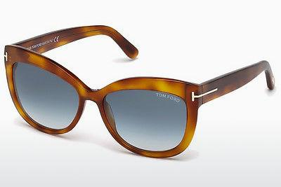 Zonnebril Tom Ford Alistair (FT0524 53W) - Havanna, Yellow, Blond, Brown