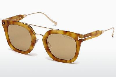 Zonnebril Tom Ford Alex (FT0541 53E) - Havanna, Yellow, Blond, Brown